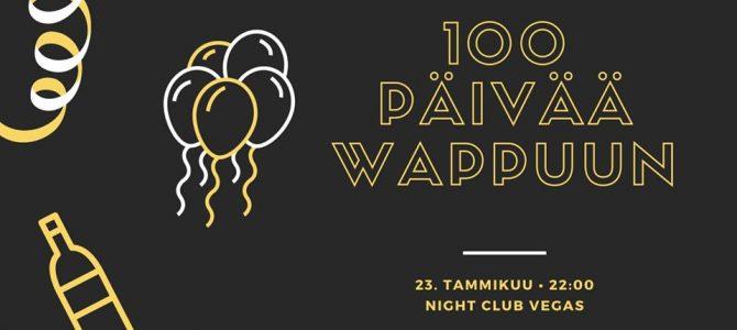 100 päivää wappuun -bileet